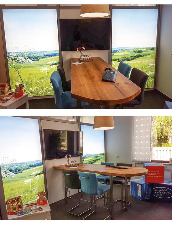 Berater-Lounge Straßenhaus