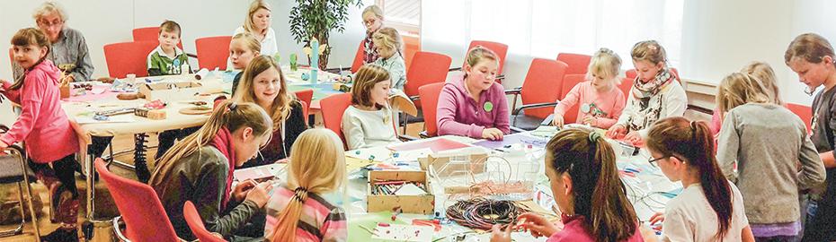 Kreativwerkstatt mit Jugendkunstschule Altenkirchen