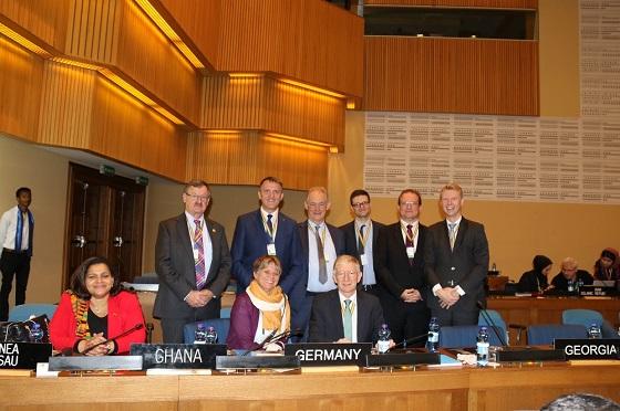 Deutsche Delegation in Ad-dis Abeba