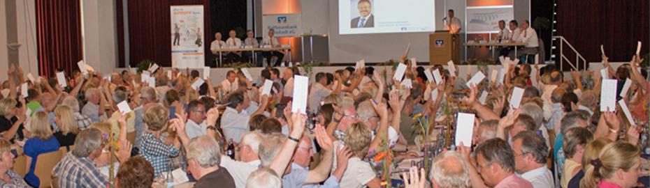 Mitglieder stimmen ab