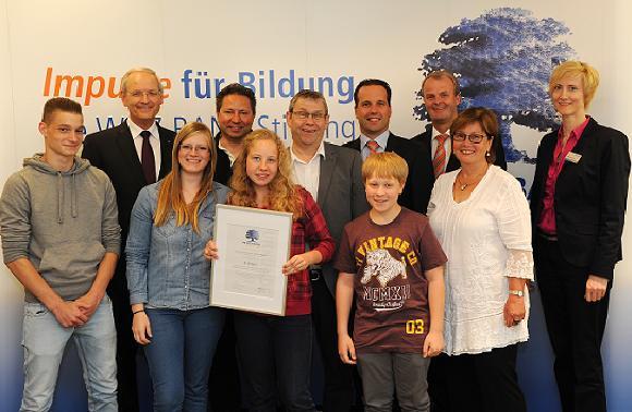 Auszeichnung durch WGZ-Bank Stiftung